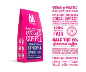 Moyee - Worlds first Fairchain Coffee