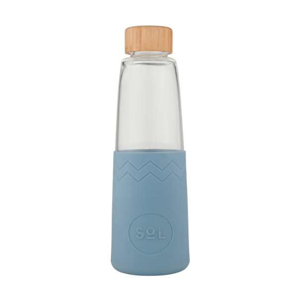 SoL Bottle Glastrinkflasche in Stone Blue