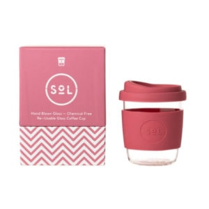 SoL Cup Glaskaffeebecher 8oz - Radiant Rose