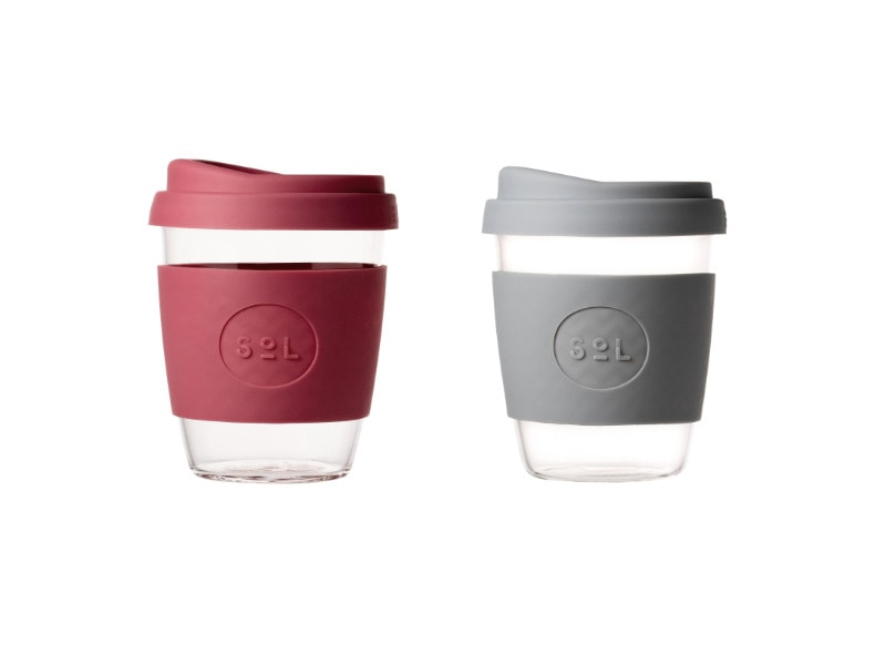 SoL Cup Glaskaffeebecher in 8oz oder 12oz