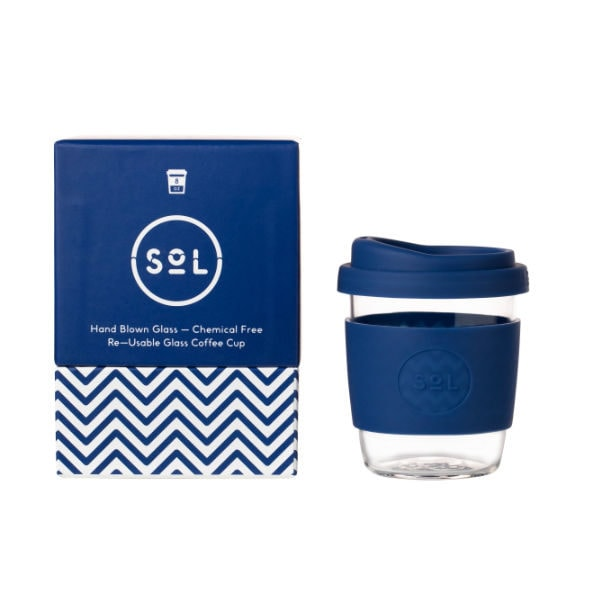 SoL Cup Glaskaffeebecher 8oz - Winter Bondi Blue