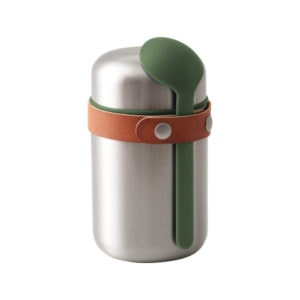 black+blum Food Flask Isolierlunchbox - Olivegrün