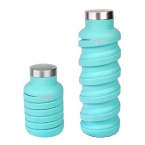 Faltbare Trinkflasche que Bottle in Mint